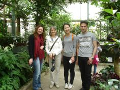 Central CT State University Intensive English Language Program - At Magic Wings Butterfly Conservatory! http://studyusa.com/