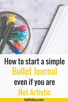 Are you overwhelmed by the beautiful bullet journal layouts and spreads out there? Learn how to start a minimalist bullet journal with no artistic skills.