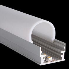 Profile M-Line Low / Cover Round :: LED Leuchten - LED Lights :: PROLED MBNLED