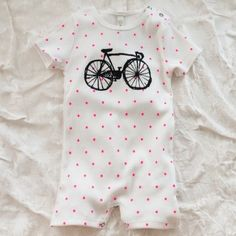 bobo choses bicycle short suit