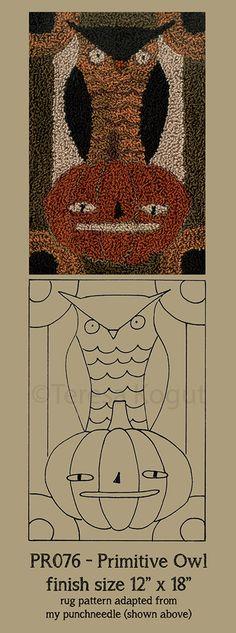Hooked rugs (patterns by teresa kogut)