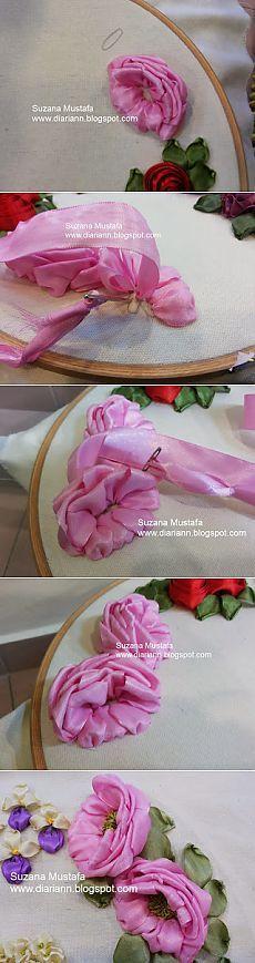 Suzana Mustafa: вышивка лентами