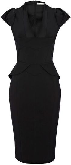KAREN MILLEN dress  - perfect for business dinners, parties and networking events.