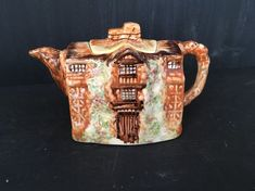 VINTAGE 1930s China Morton Old Hall Tea Pot - Arthur WOOD - Cottage Ware  | eBay