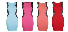 Ribbed Cut out sexy bodycon dresses perfect for valentines only £18.99