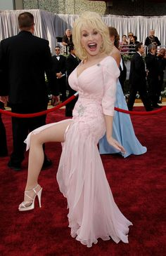 Country singer and songwriter Dolly Parton, nominated for an Oscar for best original song for 'Travelin' Thru' from the film 'Transamerica,' arrives for the Academy Awards on Sunday, March in Los Angeles. Dolly Parton Tattoos, Dolly Parton Quotes, Samantha Harris, Queen Latifah, Jane Seymour, Jada Pinkett Smith, Lisa Rinna, Rachel Weisz, Keira Knightley