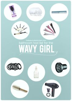 TBD wavy hair tool list