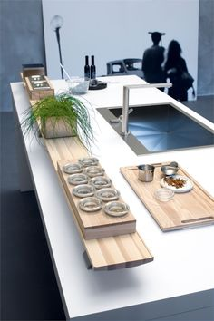 Fitted #kitchen CODE - Snaidero: CODE accessories in #wood