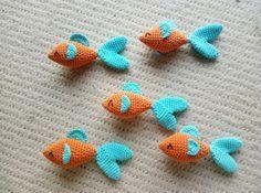 Crochet Fishes – FREE PATTERN – Mummy, Mummy!