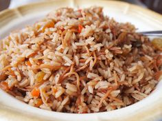 Arroz moro is the perfect festive side dish to accompany turkey, pork, chicken, or beef in any buffet, especially during the holiday season. It is very easy to make, every bite is bursting with flavor, and it keeps well...so what more could one ask for? It's very probable that you have most of the ingredients to make it in your kitchen already, but if you don't, feel free to substitute any of the them or to change them to suit your taste. Dark cola is a must if you want to give this dish a…