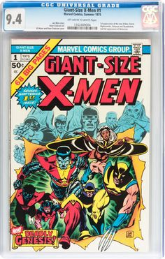 Giant-Size X-Men #1 #Marvel, 1975 #XMen