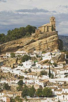 Moorish Castle at Montefrío in Spain