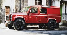 Land Rover Defender-A stunning Twisted 110 UTE in my favourite red.