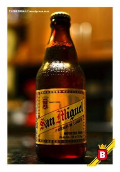 San Miguel - my favourite Spanish beer