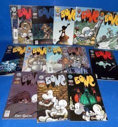 Lote de comics BONE-13 numeros buen estado