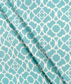 Waverly  Lovely Lattice Aqua