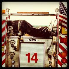 #firetruck, #flag