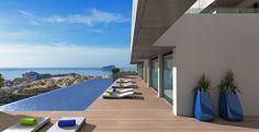 modern new design mediterranean apartments cumbre del sol