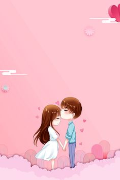 Love Is In Romantic 1214 Valentines Day Valentines Day Cute Couple Drawings, Cute Couple Cartoon, Cute Couple Art, Cute Cartoon Girl, Cute Love Cartoons, Anime Love Couple, Flower Background Wallpaper, Cute Wallpaper Backgrounds, Cute Cartoon Wallpapers