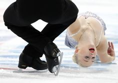 Annabelle Proelss and Ruben Blommaert of Germany perform during the pairs short program at the Rostelecom Cup ISU Grand Prix of Figure Skating in Moscow November 14, 2014. REUTERS/Grigory Dukor