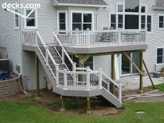 High Elevation Deck Picture Gallery light and taupe