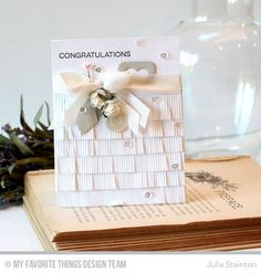 Congratulations card by Julia Stainton