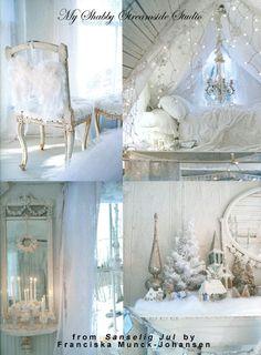 My Shabby Streamside Studio: Sanselig Jul: A Christmas For All The Senses by Franciska Munck-Johansen