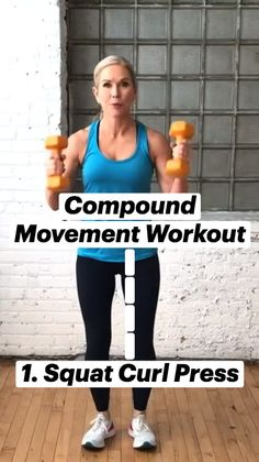 Gym Workout Tips, Fitness Workout For Women, Easy Workouts, Fitness Diet, Workout Videos, At Home Workouts, Health Fitness, Muscle, Senior Fitness