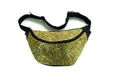 Gold Glitter Bumbag. Bumbag. Glitter. Sparkle. Festival Fashion. Eco Leather. By Beksies Boutique