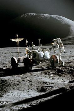 Apollo 15 Lunar Rover(1971). Seriously, how much more manly does it get?