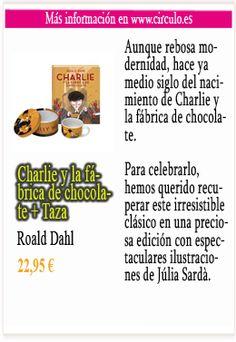 Charlie y la fábrica de chocolate + Taza Roald Dahl Más info en http://www.circulo.es/libros/roald-dahl-charlie-y-la-fabrica-de-chocolate-taza/06958