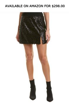 f2179038d3 Nanette Lepore Womens Skirt, 6, Black ◇ AVAILABLE ON AMAZON FOR: $298.00 ◇