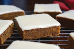 Allergic Living - Pumpkin Blondies retouched