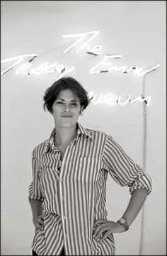 Tracy Emin.  © Paul Salmon.