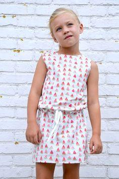 Sewing Ideas, Watermelon, Rompers, Summer Dresses, Paper, Girls, Blog, Handmade, Fashion