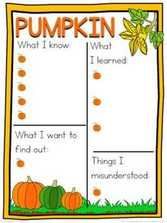 Pumpkin schema  worksheet Pumpkin Life Cycle, Class Activities, A4 Paper, Life Cycles, Worksheets, How To Find Out, This Or That Questions, Learning, Pumpkins