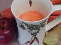 Weight Loss Recipes: Weight Loss Recipe Apple, Carrot and Ginger Juice
