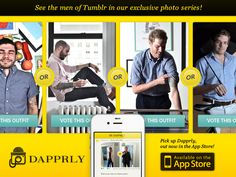 You can now download the app and stay dapper: http://itunes.apple.com/us/app/dapprly/id552157710?ls=1=8