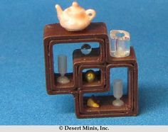 Desert Minis: New Kit. Just paint and fill. Contents not included. Display Shelves, Dollhouses, Contents, Minis, Fill, 3d, Painting, Furniture, Miniatures