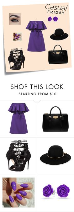 """""""Loving Summer"""" by m-sisic ❤ liked on Polyvore featuring Post-It, Mulberry, Alexander McQueen, Lanvin, Bling Jewelry and Roberto Coin"""