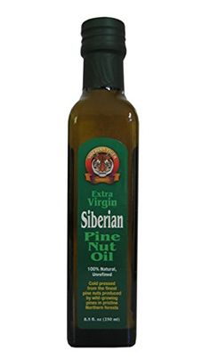 Extra Virgin Siberian Pine Nut Oil 85 oz Bottle *** Check out the image by visiting the link.