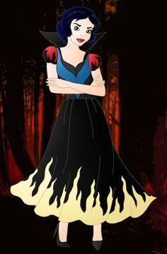 Evil Princess: Snow White by Willemijn1991 on DeviantArt