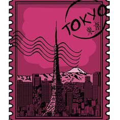 'Tokyo Stamp' by Cool Stickers, Tokyo, Classic T Shirts, Laptop, Stamp, Cool Stuff, Phone, Drawings, Cards