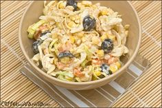 Pasta salad (leftover pasta and more)