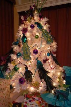 My Peacock Christmas Tree