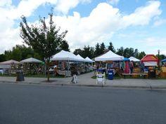 Arlington Farmers' Market- perfect market day! Legion Park, Arlington Washington, Local Guides, Farmers Market, Street View, Marketing, Places, Lugares