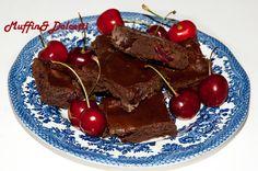 Brownies Light alle Ciliegie e Olio di Cocco Desirée (Roma)