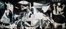 Guernica, 1937, Pablo Picasso Size: 349.3x776.6 cm Medium: oil on canvas