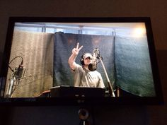 Chord Overstreet records his first song of Glee Season 6