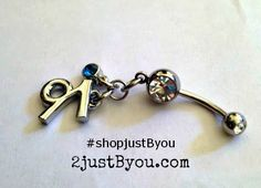 NEW for the Summer: Belly Rings by @justByou  #handmade #shopjustByou